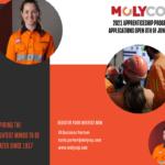 Molycop Australia 2021 Apprentice Program